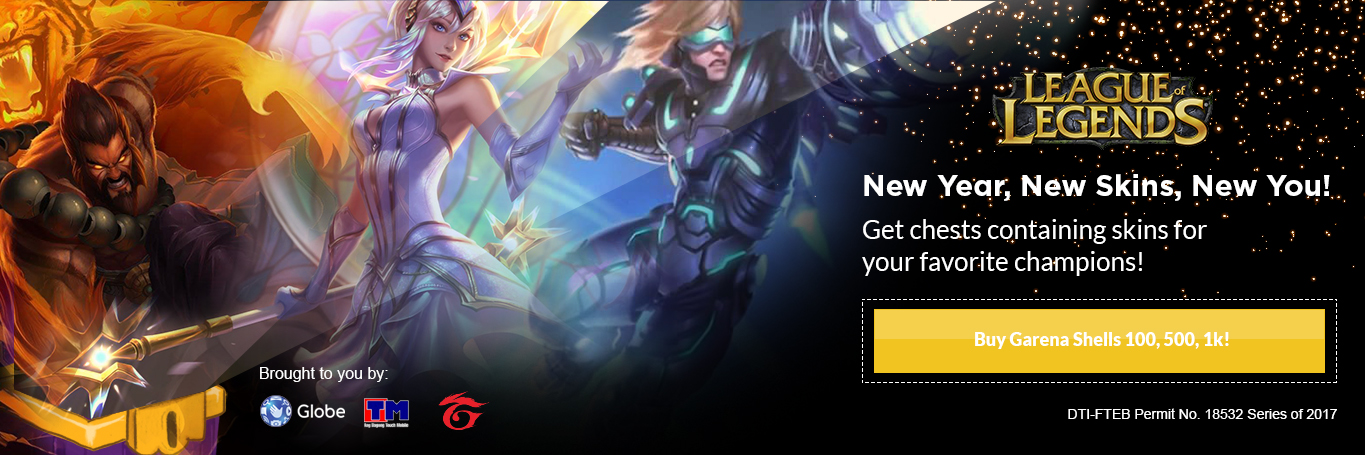 Garena Lol Chest Promo